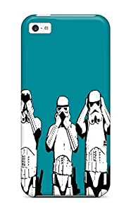 New Arrival Cover Case With Nice Design For Iphone 5s for you- Star War Hear See Speak Evil