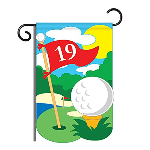 Golf Garden Flag Indoor/outdoor 13.5