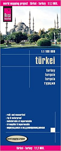 Turkey 2014 (Anglais) Carte – Carte pliée, 1 février 2014 Reise Know-How Verlag GmbH 3831771804 Gazetteers & Maps) Atlases