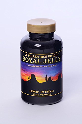 (Royal Jelly One Gram CC Pollen 60 Caps )
