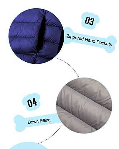 893f2e384cb5 Wantdo Boy s Lightweight Puffer Down Jacket With Hood Packable ...