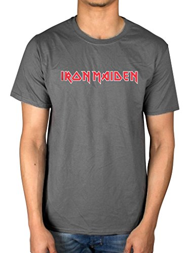 Official Iron - AWDIP Officiail Iron Maiden Classic Logo T-Shirt