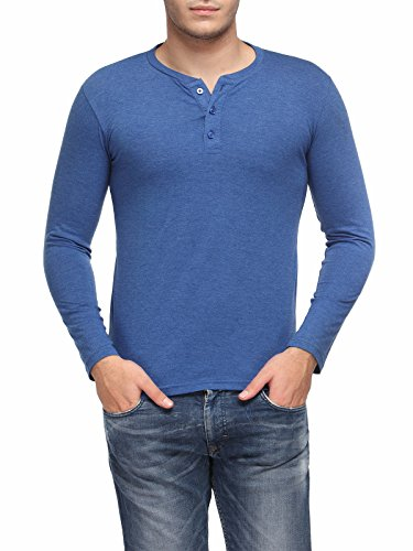 TSX Men's Cotton Henley T-Shirt TSX-HENLEY-H-L