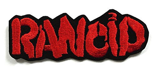 Backpack Patch Camo (RANCID001 - RANCID Patch - Heavy Metal Patches, Applique Embroidered Patches - Iron on Patches - Backpack Patches - Rock Band Patches - Band Patches Metal - Logo Patches -)