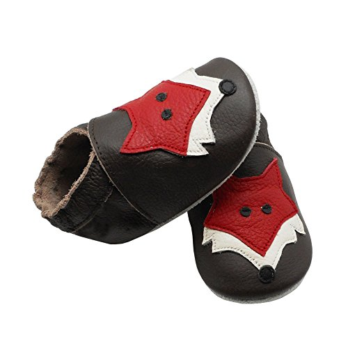 Pictures of YIHAKIDS Soft Sole Baby Shoes Toddler Leather 5