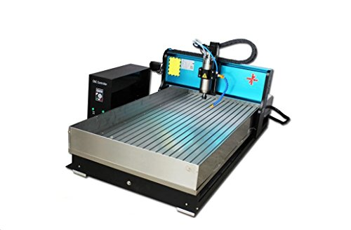 USB port JFT 2.2kw 60130 (60×130cm) Industrial Level CNC Wood Router Stone Metal Engraving/PVC milling Machine (2.2kw +4 axis + with sink) by JFT-Jessica