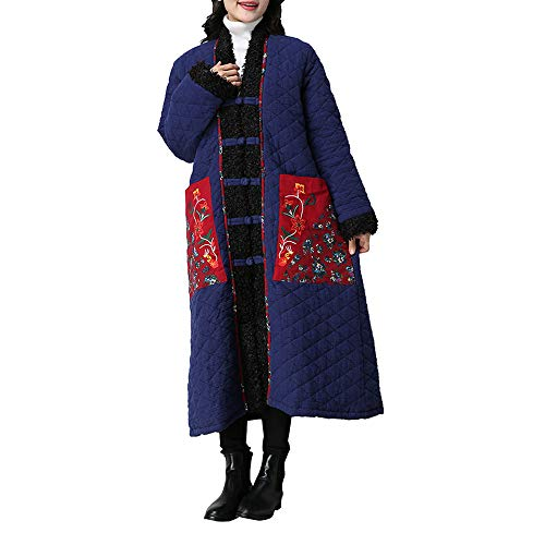 Pandaie Womens ... Jacket Coat,Outwear Women Winter Coat Folk-Custom Cotton-Padded Lamb Cashmere Easy Cotton Jacket -