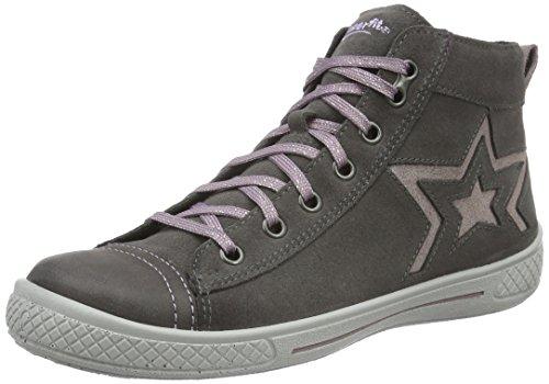 Superfit TENSY 700095, Mädchen Hohe Sneakers, Grau (STONE KOMBI 06), 36 EU