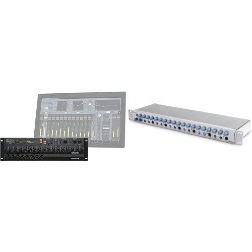PreSonus StudioLive RM16AI Rack Mixer with HP60 6-Channel Headphone Amplifier/Mixer Bundle