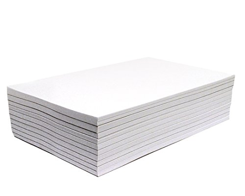 (Memo Pads - Note Pads - Scratch Pads - Writing Pads - 10 Pads with 50 Sheets in Each Pad (5.5 x 8.5 inches))