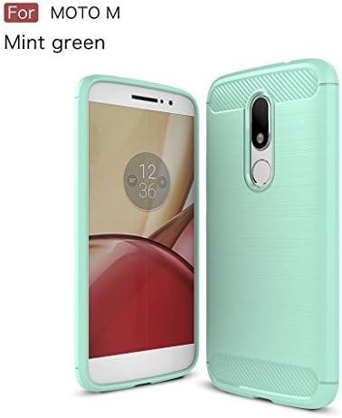 Funda Motorola Moto M, XiDe Carcasa Ultra Delgado Ligero Silicona con Anti-Arañazos Espalda Carcasa Fibra de Carbono Funda para Motorola Moto M: Amazon.es: Electrónica