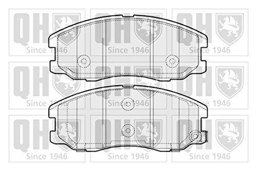 Quinton Hazell BP1579 Brake Pad Set