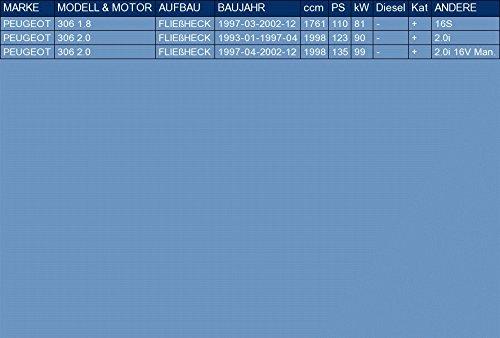 ETS-EXHAUST 2882 Silencioso Trasero pour 306 1.8 2.0 HATCHBACK 110//123//135hp 1993-2002