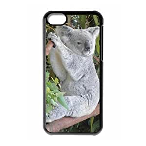 ALICASE Diy Hard Shell Case Koala For Iphone 5C [Pattern-1]