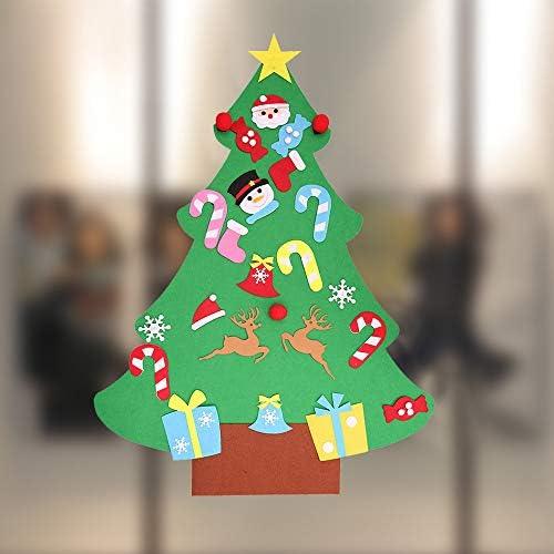 Amazon.com: Armfer-home supply DIY fieltro árbol de Navidad ...