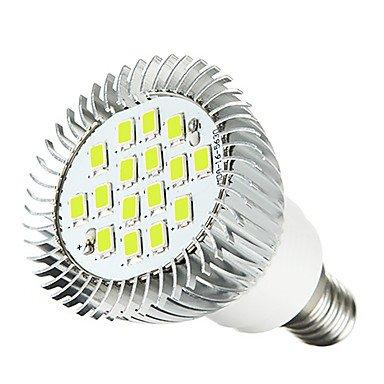 3W LED Spotlight MR16 16SMD 5630 260-300Lm Warm White/White AC 220-240V 2 pcs , 220-240v