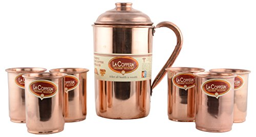 Buy La Coppera Jugs 1.6 Liters Metallic Online at Low Prices in India - Amazon.in  sc 1 st  Amazon.in & Buy La Coppera Jugs 1.6 Liters Metallic Online at Low Prices in ...