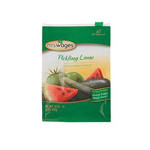- Mrs. Wages Pickling Lime Seasoning