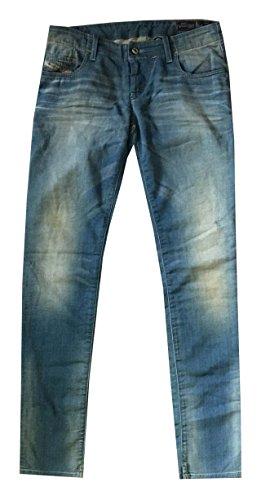 Diesel Women Grupee-NE Skinny Jeans (23x34, Blue wash) by Diesel
