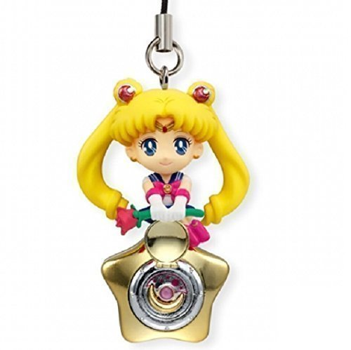(Bandai Shokugan Sailor Moon Twinkle Dolly (Volume 3) Sailor Moon with Star Locket Deformed Mascot Charm)