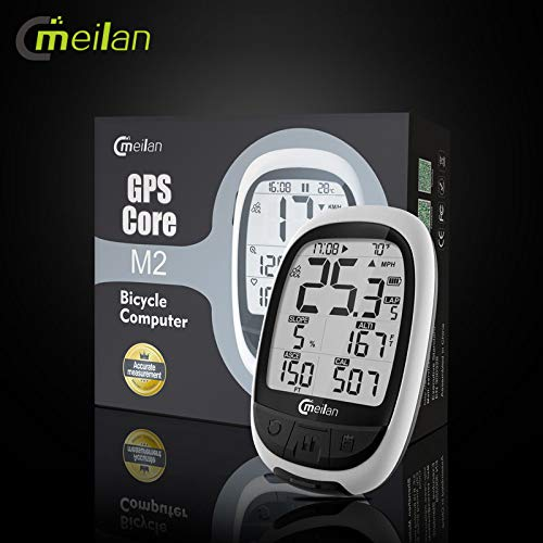 A TGX Bike GPS Navigation blueeetooth ANT+ Cycling Computer Meilan M2 Support Connect with Cadence Heart Rate Power Meter(not Include)