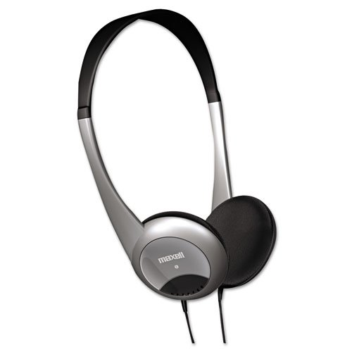 Maxell Hp 200 - Headphones - Portable Audio System - Binaural - Wired - Semi-Ope