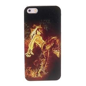 ZCL-Kinston El Fuego es el caso de Street Dance plástico duro para el iPhone 5/5S