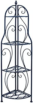 Benzara Corner Rack with Modern Interiors & Conventional Decors