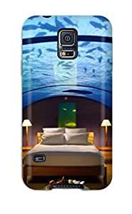 Hot Style RiNegBM1296XkNyU Protective Case Cover For Galaxys5(underwater Sleeping)