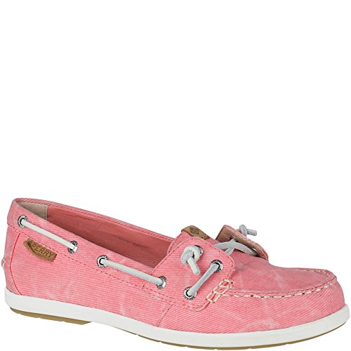 Sperry Top-sider Donna Mocassino Ivy Water Canvas Slip-on Mocassino Rosa