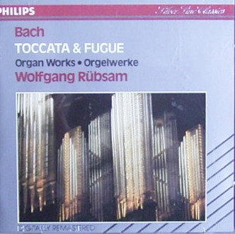 Wolfgang Rubsam performs wholesale 2021 model Bach: Toccata al Philips Fugue et