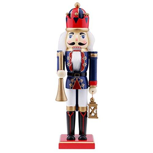 kesoto Marionetas de Madera de Cascanueces Figura del Soldado Juguetes de Niños Regalos de Navidad Decoración de Mesa Hoagr...