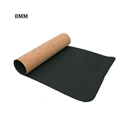 Antideslizante Grueso 6mCork TPE Yoga Mat Antideslizante TPE ...