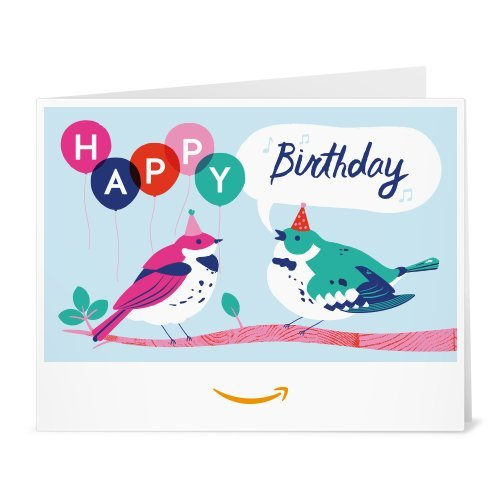 Amazon Gift Card - Print - Birdy Birthday by Amazon