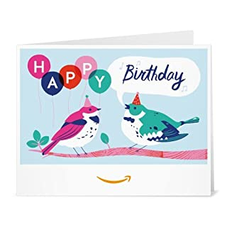 Amazon Gift Card - Print - Birdy Birthday (B01FIS76Y6) | Amazon price tracker / tracking, Amazon price history charts, Amazon price watches, Amazon price drop alerts