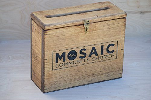 Church Offering Chest - Church Offering Plate - Donation Box - Advice Chest - Church Box - Donation Chest - Church Offering Box