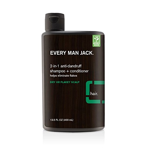 Every Man Jack Anti-Dandruff Shampoo, Eucalyptus, 13.5 Fluid Ounce
