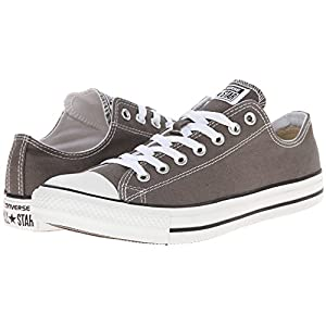 Converse Unisex Chuck Taylor All Star Low, Charcoal (39 M EU/8 B(M) US Women/6 D(M) US Men.Charcoal.)