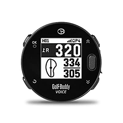 Golf Buddy Voicex Easy-to-Use Smart Talking Golf GPS by Golf Buddy