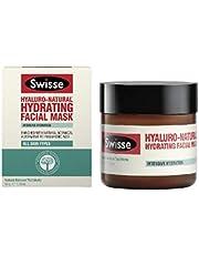 Swisse hyaluro-natural hydrating facial mask, 50ml