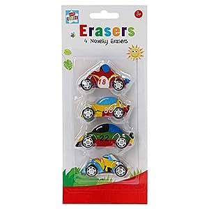 Kids Create 4 Novelty Erasers