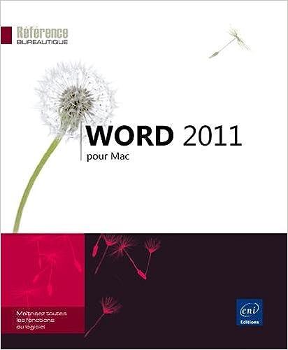 Lire en ligne Word 2011 pour Mac pdf