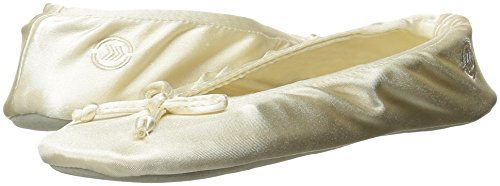 Isotoner Women's Classic Satin Ballerina Slipper