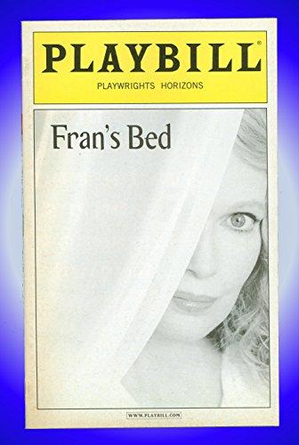 Fran's Bed, Off-Broadway Playbill + Mia Farrow, Julia Stiles, Heather Burns, Jonathan Walker, Harris ()