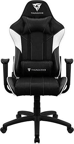 Aerocool Silla Gaming EC3 AERO-EC3-BW (Black and White Co