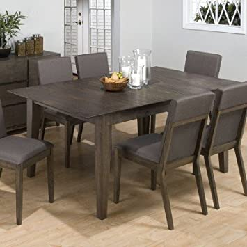 Great Jofran 728 Series Rectangular Dining Table In Antique Gray Ash Finish