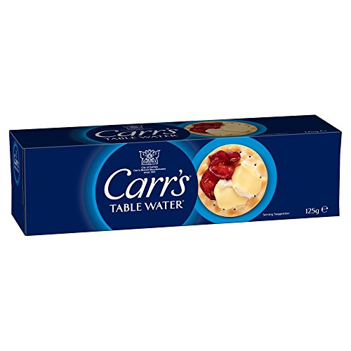 Carrs Table Water Biscuit 125g x 12
