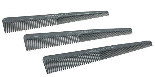 Dupont Starflite Barber Comb #55-3 Pack