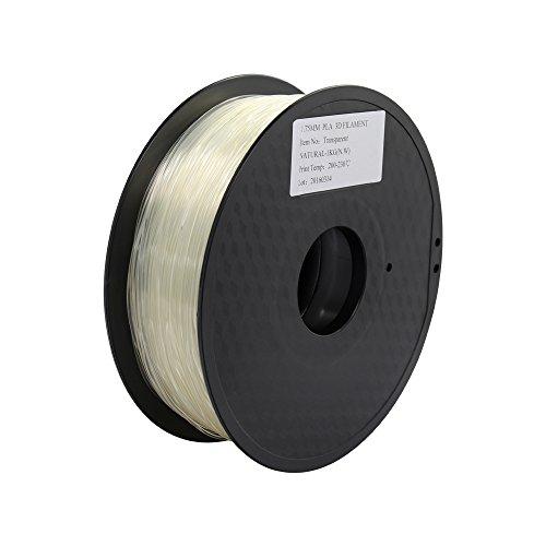 TriGorilla Transparent 1 75mm Printer Filament