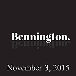 Bennington, Paul Feig, November 3, 2015 Radio/TV Program